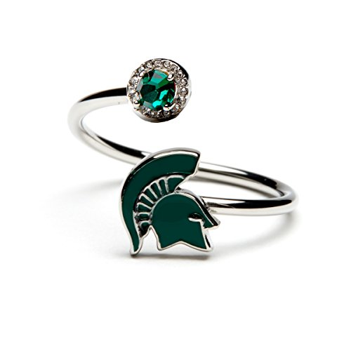Michigan State Ring | Michigan State University Spartan Ring | Officially Licensed Michigan State Jewelry | MSU Class Ring | Michigan State Alumni Gift | MSU Spartan -