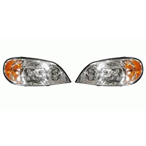 Kia Sedona Replacement Headlight Assembly - 1-Pair