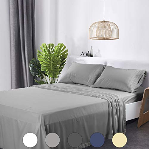 Abakan Queen Bed Sheets Set 4 Pi...