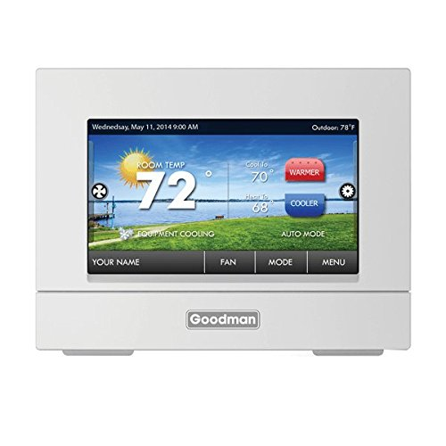 Goodman Programmable Full Color Touchscreen Thermostat - Full Color Touch Screen