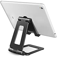 Adjustable iPad Stand, Tablet Stand Holders, Cell Phone Stands, iPhone Stand, Nintendo Switch Stand, iPad Pro Stand, iPad Mini Stands and Holders for Desk (4-13 inch)