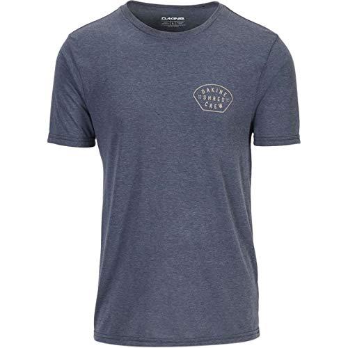 Dakine Tech T-Shirt - Men's Shred Crew/Heather Navy, M