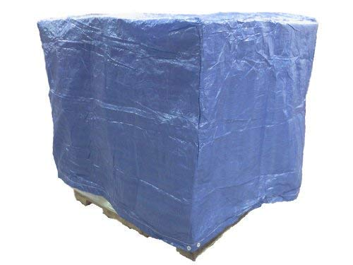 (4 Ft. X 5 Ft. X 4 Ft. Blue Poly Pallet Cover - 5 Pack)