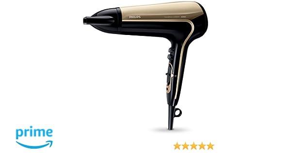 Philips Secador KeraShine HP8243/00 - Secador de pelo (CC, Negro, Púrpura, De plástico, Con agujero en la empuñadura para colgar, 1,8 m, 2200 W): Amazon.es: ...