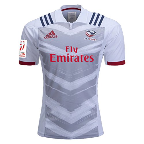Rugby Jersey Home (Adidas USA Rugby Jersey 7S Home 2017/18 (Medium))