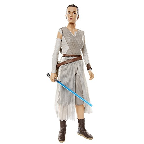 "Star Wars Big Figs Episode VII 18"" Rey with Lightsaber Action Figure"