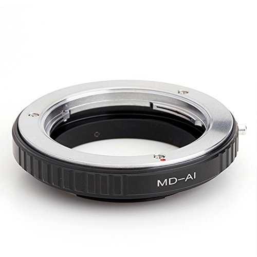 Pixco Macro Lens Mount Adapter for MD Lens to Nikon AI Camera Adapter D750 D810A D5 D500 D4s D610 D800 D3300 D5600 D3400