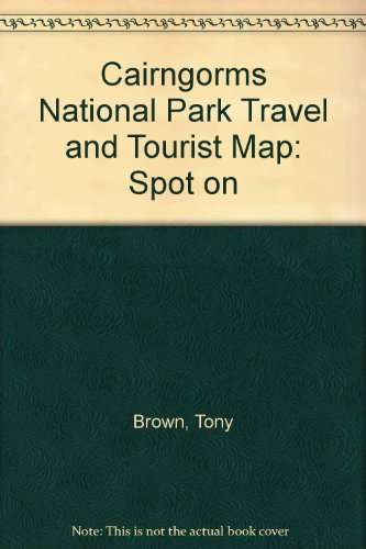 Cairngorms National Park Travel and Tourist Map: Spot on