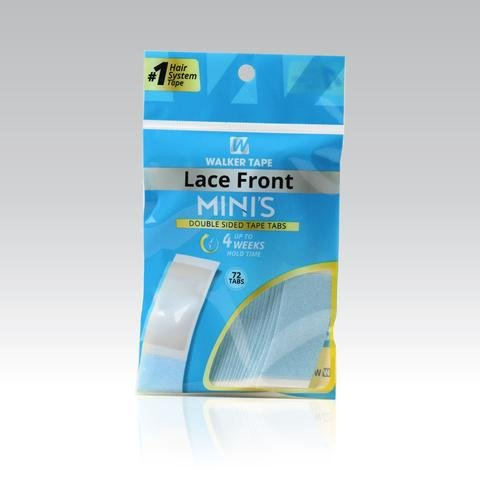 Lace Front Mini's Double Side adhesive 72 mini's per pack by Lace Front Mini Tabs