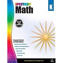 Spectrum | Math Workbook | Kindergarten, 96pgs