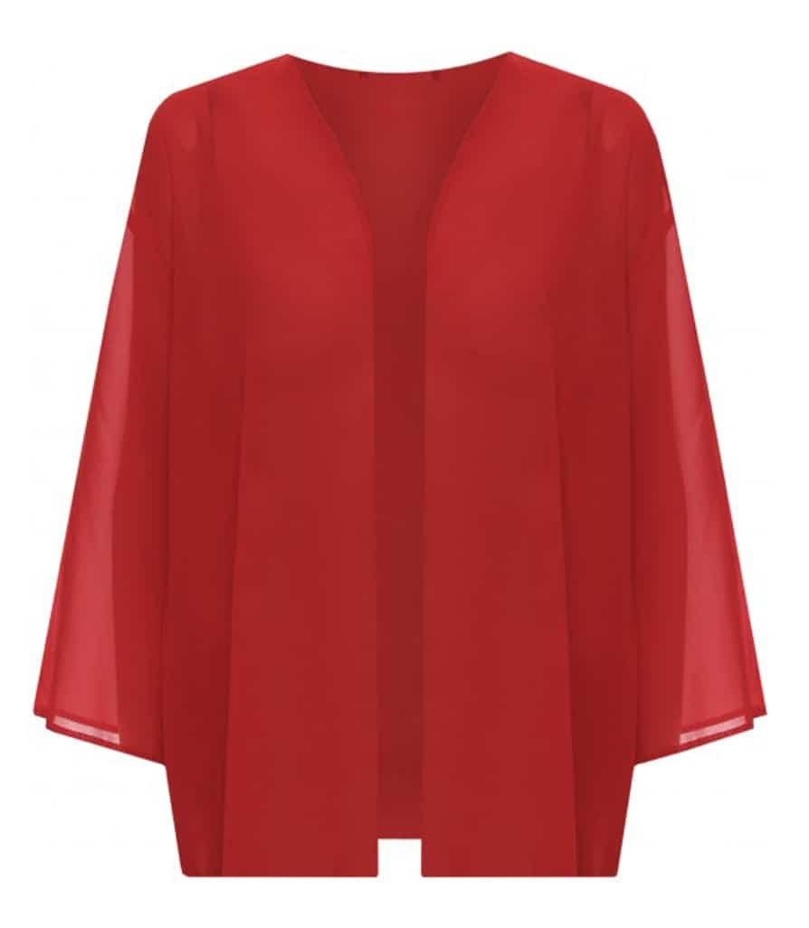 Top Fashion Womens Plus Size Light Loose Chiffon Sheer Kimono Open Cardigan UK Size 16-26