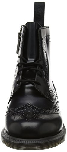 Smooth Delphine Dr Donna Nero Stivali Black Black Martens Polished 5r5wqRI