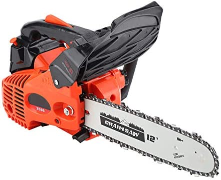 Yosoo Cordless Chainsaw, 900W 12inch Lightweight Gasoline Powered Chainsaw Wood Cutting Machine for Farmers and Loggers