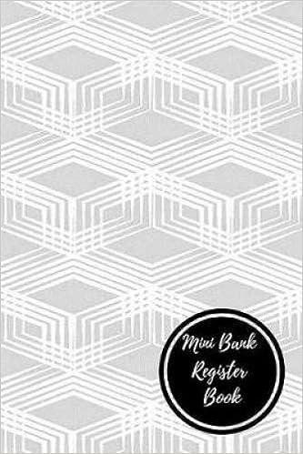 mini bank register book bank transaction register journals for all