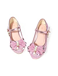 Walofou Toddler/Little/Kids/Big Girl Princess Party Wedding Dress Shoes