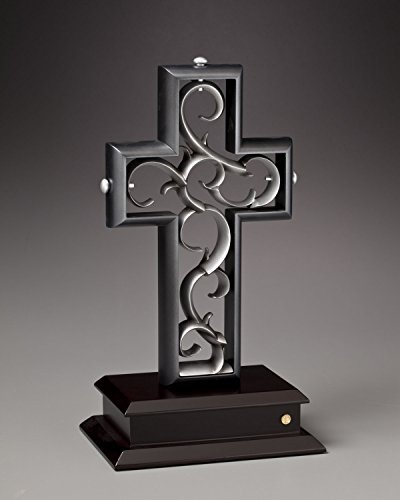 Unity Cross Slate Black and Pewter