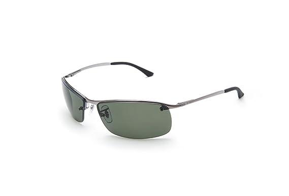 f3e7e113f81 Ray-Ban Men s Sunglasses RB3183 63 mm  Amazon.co.uk  Clothing