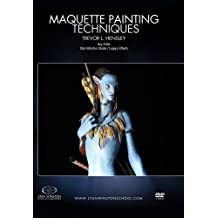 Maquette Painting Techniques: Learn special character effects & creature maquette airbrush/painting techniques by Trevor Hensley