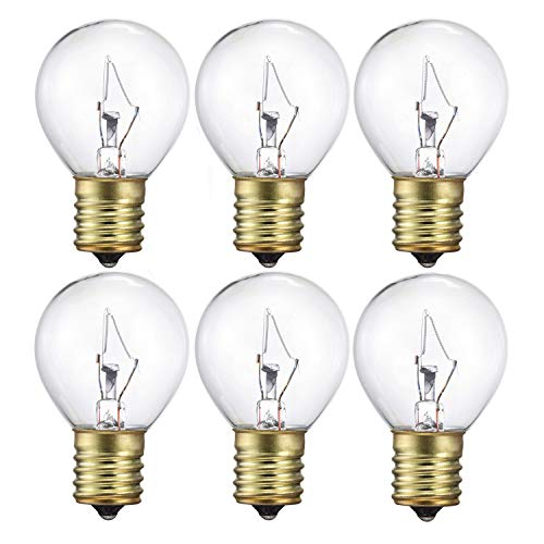 25 Watts Replacement Bulb for Lava Lamp (14.5 Inch Lava Lamps),6 Pack