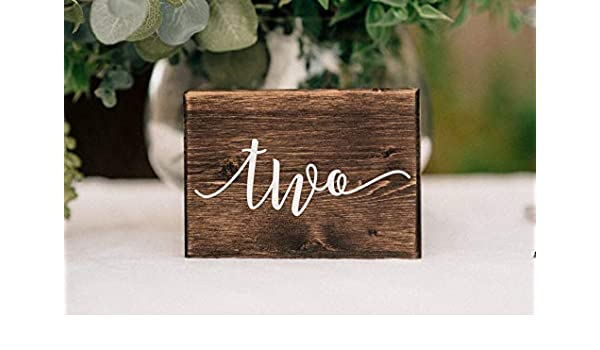 Arrows table decoration Personalised Wedding Decor Wedding TABLE NUMBERS