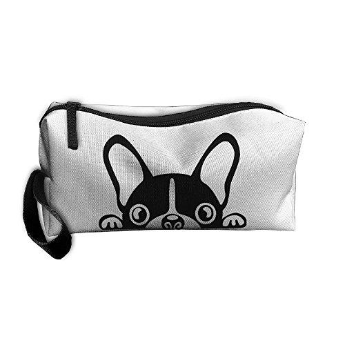 4ME4U Cute Baby French Bulldog Gift Portable Storage Pouch T