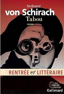 Tabou : roman, Schirach, Ferdinand von