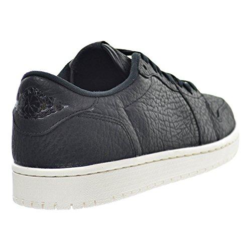 Air Jordan 1 Rétro Bas Ns No Swoosh Chaussures Pour Hommes Noir / Voile / Noir 848775-005