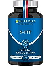 5 HTP - 300 mg/dag - Griffonia Simplicifolia utsädextrakt - Bättre sömn, minskar stress, ångest, sömnlöshet, hjärnas aktivitet - 100% naturligt Vegan - Tillverkad i Frankrike