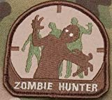 Zombie Hunter Iron on Patch - Arid