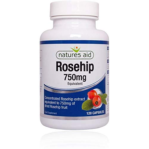 (Natures Aid Rosehip 750mg 120 Vcaps - 6 Pack )