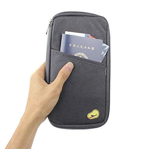 Zilosconcy de Mujer Bolsa de Viaje multifunción Funda Pasaporte ID Largo Tarjeta de crédito Monedero Caja Titular Largo documento Bolsas: Amazon.es: Ropa y ...