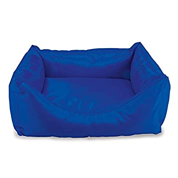 Arquivet 8435117884083 - Cama Cuadrada Impermeable Azul 50 x 45 x 17 cm: Amazon.es: Productos para mascotas