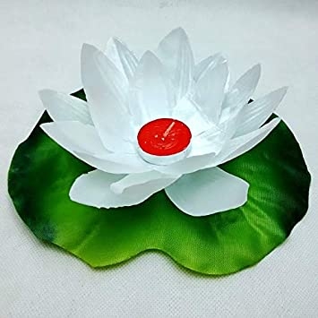 Amazoncom 5pc Lotus Water Lily Floating Lantern Flower Wish Lamp