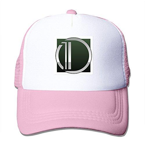 saxon13-unisex-baseball-caps-mesh-back-cool-dom-hat-cpas-pink