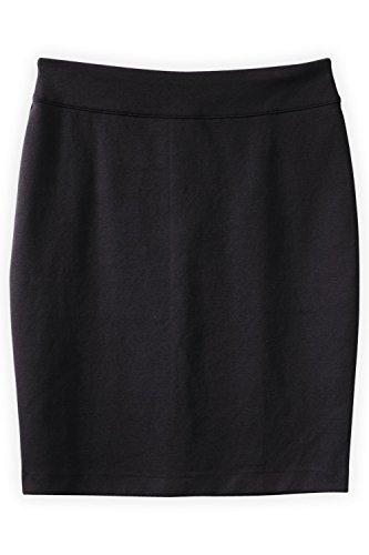 Fair Indigo Fair Trade Ponte Knit Pencil Skirt