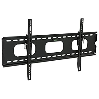 Mount-It! Low-Profile Tilting TV Mount | Flush Mount TV Bracket Wide | Ultra-Thin TV Mount with Tilt for 42-70 in. Screen TVs | VESA Compatibility up to 850x450 | 220 lbs. Capacity
