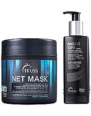 Kit Truss Máscara Net Mask 550g + Sérum Night Spa 250ml