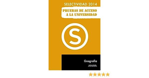Geografía. (Selectividad/PAU 2014): Amazon.es: Muñoz-Delgado y Mérida, Mª Concepción: Libros