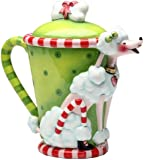 Appletree 8-Inch Ruby's by Babs Ceramic Teapot