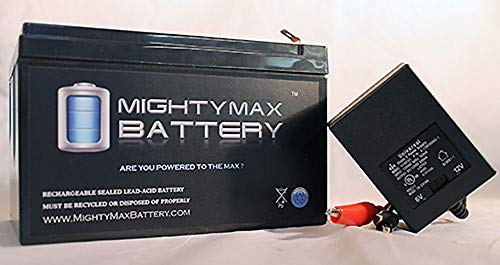 Mighty Max Battery 12V 12AH Replaces Wagan 2464 Powerdome LT Jump Starter + 12V Charger Brand Product