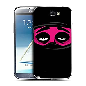Head Case Designs Drowsy Ninja Moods Replacement Battery Back Cover for Samsung Galaxy Note 2 II N7100
