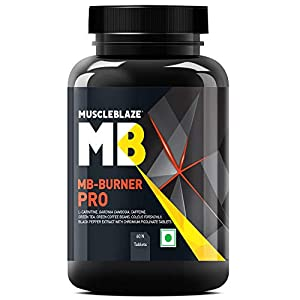 MuscleBlaze MB-Burner PRO, L- Carnitine, Garcinia Cambogia, Caffine, Green Tea, Green Coffee Bean, Coleus Forskohlii…