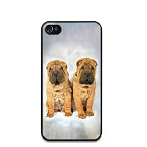 Shar Pei Dog Hard Case Clip on Back Cover for i-Phone 4 & 4S