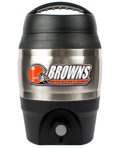 (NFL Cleveland Browns 1 Gallon Tailgate Keg)