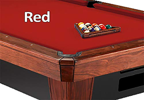- Simonis Red Billiard Cloth- 8 Foot Cut