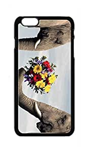 elephant Snap-on Hard Back Case Cover Shell for iphone 6 (4.7-Inch) -348
