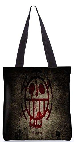 """Snoogg Beängstigend Kunststofftasche 13,5 X 15 In """"Shopping-Dienstprogramm Tragetasche Aus Polyester Canvas"""