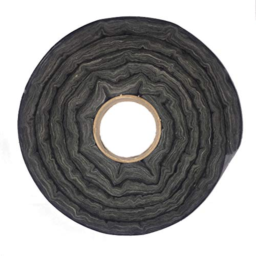 RCK Sales Glass Fireplace Door Insert Fiberglass Insulation Sealing Kit Black 10 Feet Long - Fireplace Door Kit