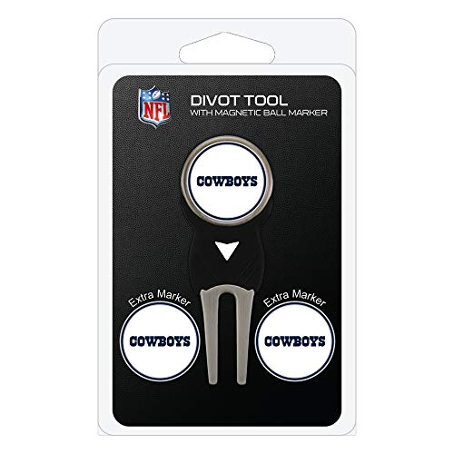 Team Golf NFL Dallas Cowboys Divot Tool with 3 Golf Ball...