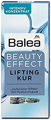 Balea Beauty Effect Lifting Treatment Ampoules With Hyaluronic Acid 6pack 6x(7x0.03 fl.oz.)